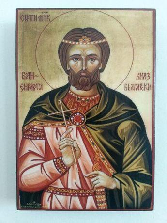 Икона на Свети Княз Боян icona Sveti Kniaz Boian