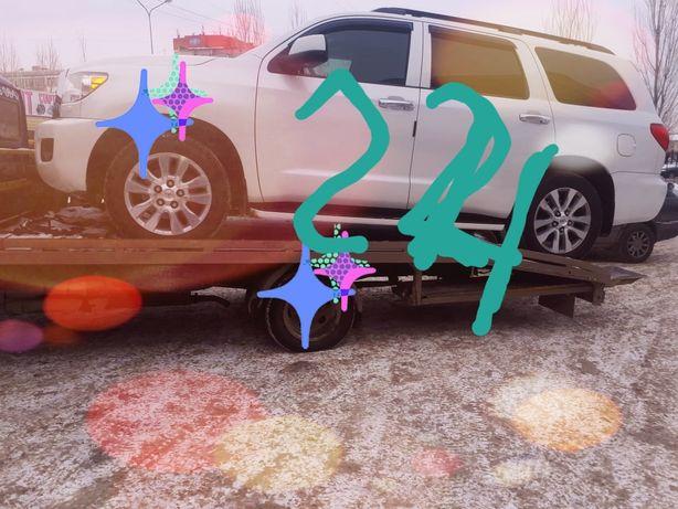 Услуги эвакуатора 24часа Астана. Город меж город.