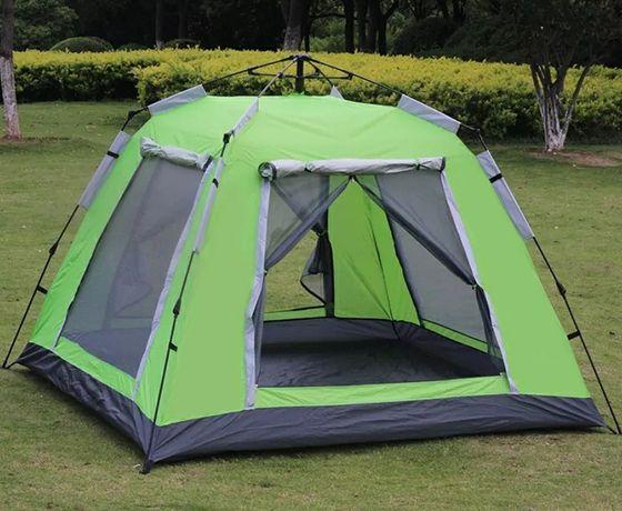 Палатка высокая на 4-5 человек зонтичная с отличной вентиляцией