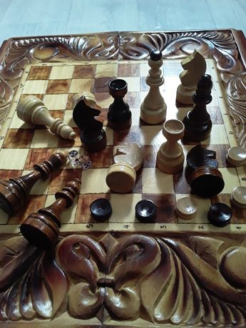 Шахмат нарды 3в1