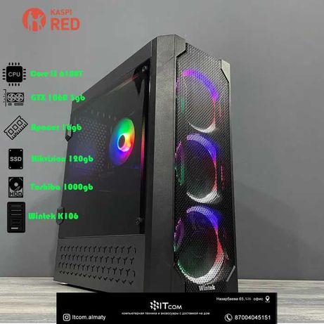 Игровой системный блок i3 6100t/ 16gb/ GTX 1060 3gb/ 120gb/ 1000gb
