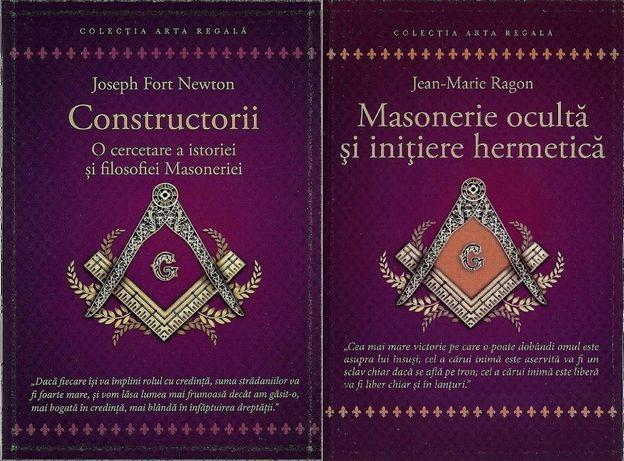 Set de 2 carti de istoria si filosofia Francmasoneriei