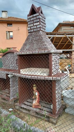 Барбекю и градинска мивка
