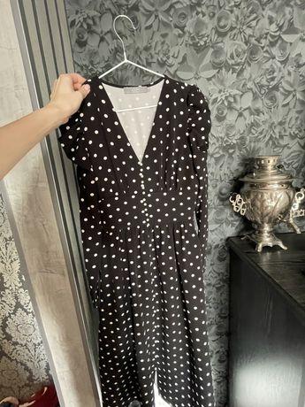 Платье-миди Lichi в горошек