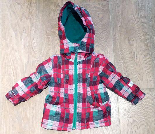 Топло зелено зимно яке