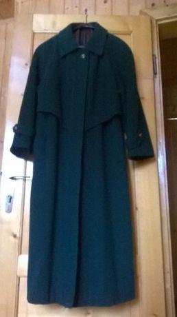 Palton dama stofa marimea 46 culoare verde inchis