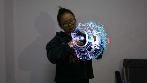 Голографический вентилятор, голограмма DSEE 65H