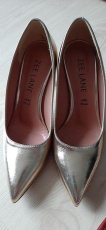 Pantofi piele aurii 35