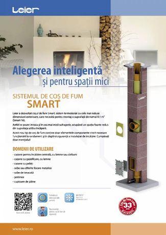 LEIER SMART - Cos de fum ceramic hr - Transport Gratuit RO