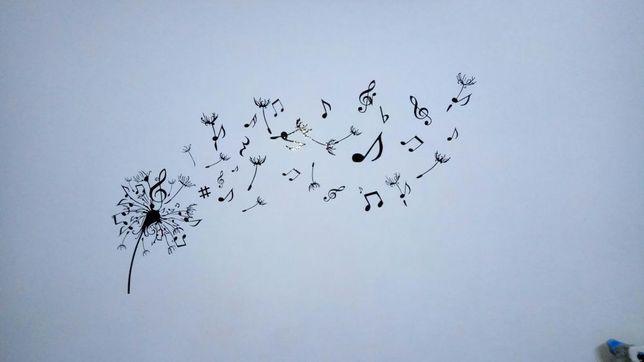 Autocolant wall sticker Music Papadie