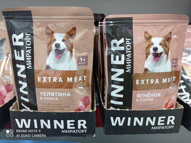 Корм для собак всех пород Winner