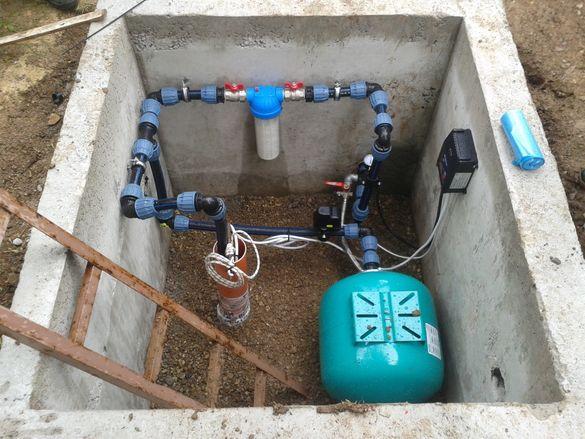 Монтаж на хидрофорни системи и ВиК услуги