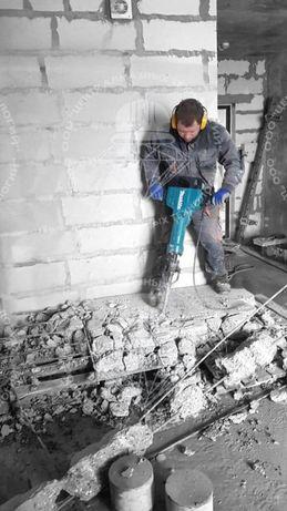 Крушение бетон слом Снос Демонтаж Алмазный резка Лазер проем Отверстие