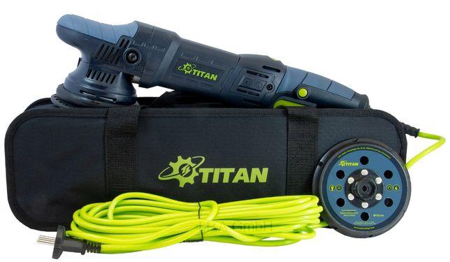 Masina de polishat orbitala TITAN TDA21-2 1050 W, 125 mm Profesionala
