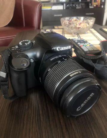 Фотоапарат Canon EOS 1100D+ EFS 18-55mm + ЧАНТА + 8ГБ памет