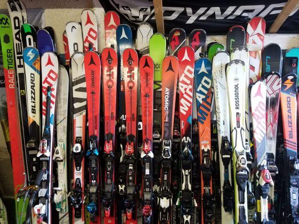 Schiuri copii-adulti- 65 cm-180 cm -clapari ski-bete-casca cadou