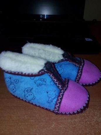 Нови топли детски пантофки