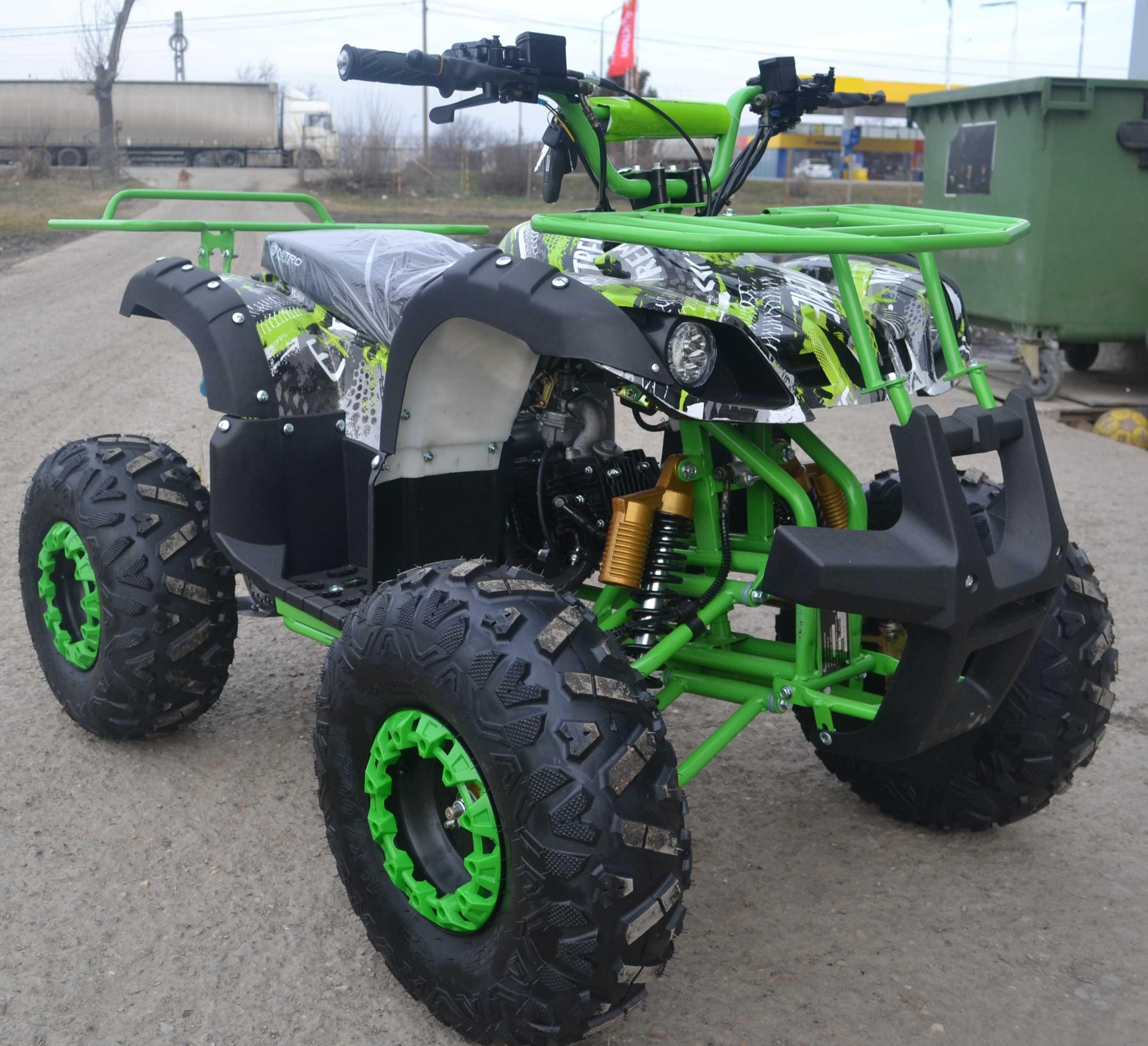 ATV 125cc NITRO TORONTO, Autoamtik NOU cu garantie, Import germania