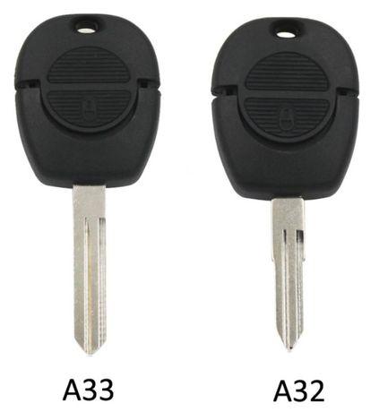 Carcasa cheie Nissan 2 butoane Micra Almera Primera Xtrail 2 tipuri