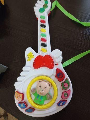 Гитара музыкальная детям