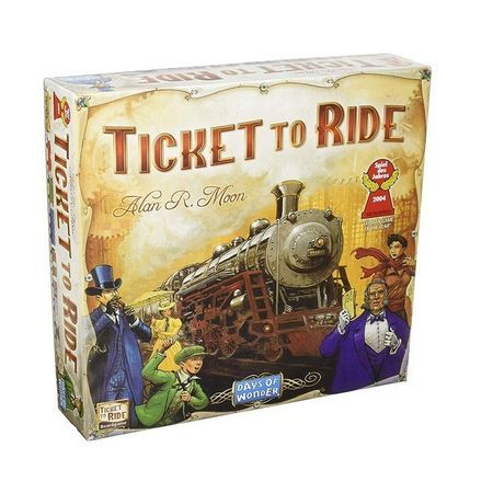 Joc de societate Ticket to ride - America de Nord,nou, limba romana