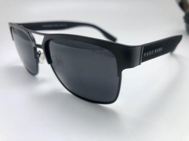 Ochelari de soare Hugo Boss Polarizati rame metalice