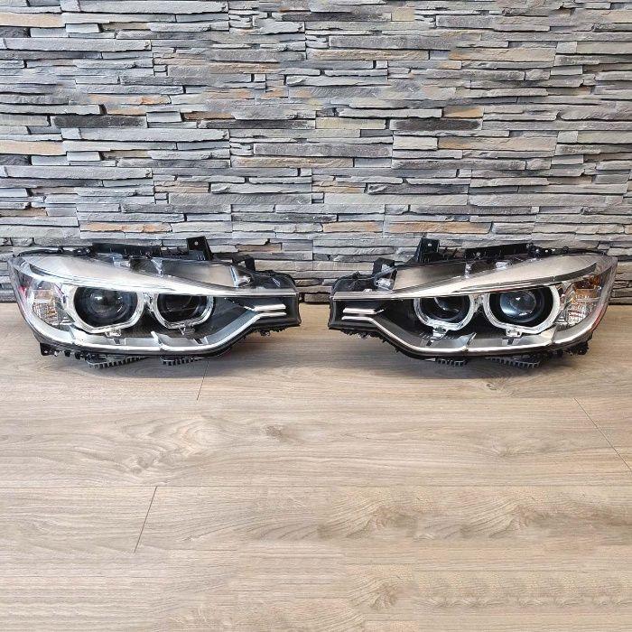 Faruri Bi-Xenon LED BMW F30/F31 (11-14) Angel eyes conversie la XENON