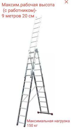 Аренда лестницы 9 метров