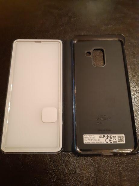Husa Samsung A 8 2018 neon originala