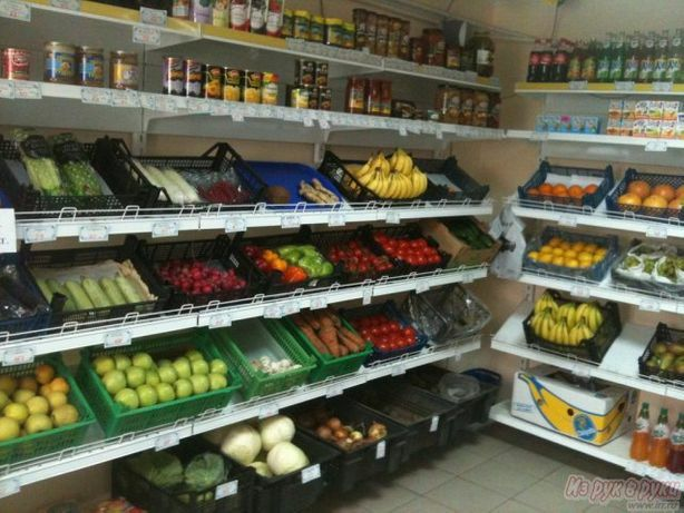 Отдел при магазине.  Овощной