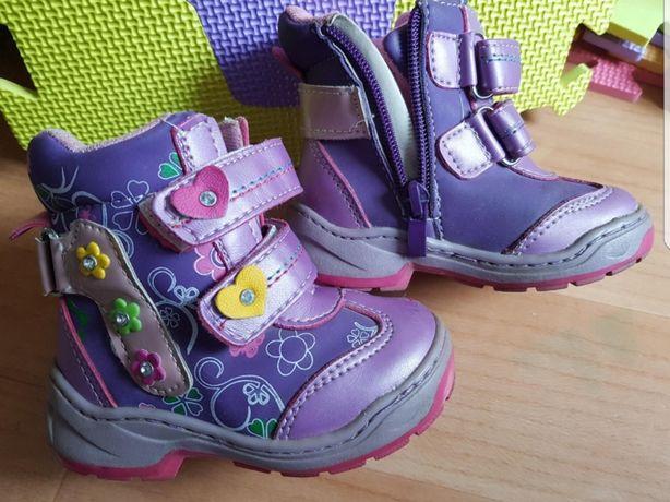 Сапожки весна/осень на девочку 22 размер, сапоги, ботинки