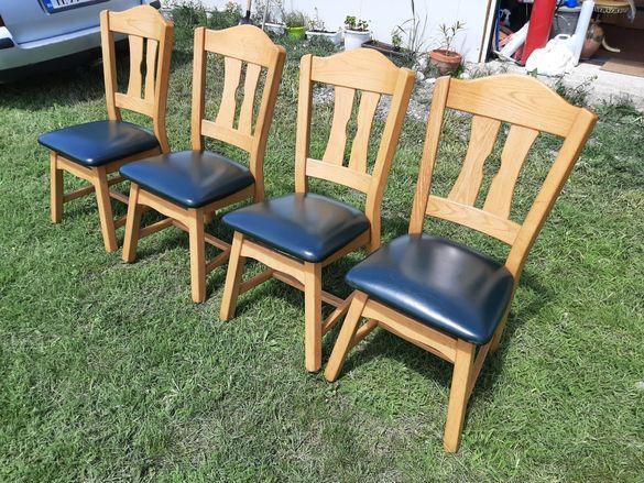 Масивни трапезни столове внос от Холандия