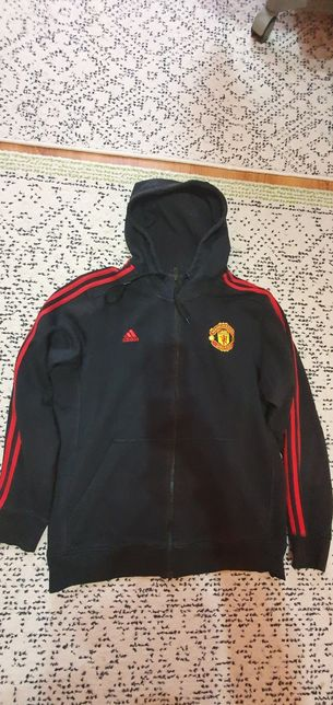Bluza training Manchester United Adidas original mărimea L