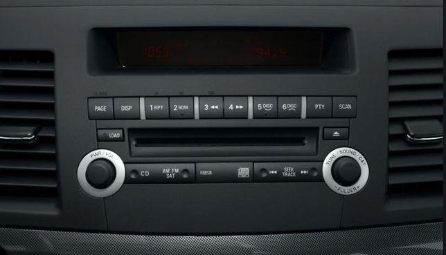 CD Player original Mitsubishi Lancer >2007 Outlander navigatie unitate