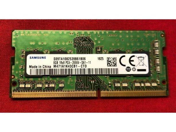 Memorie laptop 8GB Samsung DDR4 2666MHz PC4-21300 optional kit 16GB