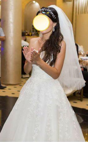 SUPER OFERTA Rochie de mireasa San Patrick, model Argel, marime 36-38
