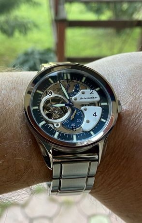 Ceas automatic Orient Star Retro Motorcycle 42mm,mecanism 46S53