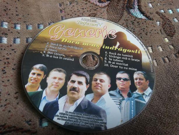 Vând cd cu formația Generic