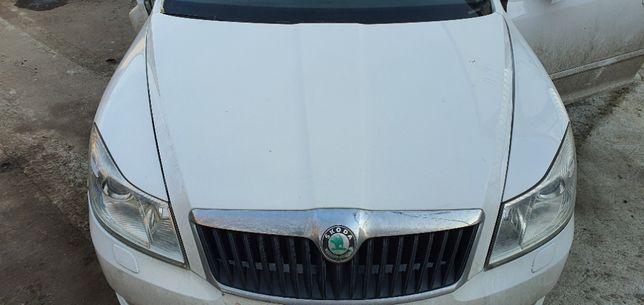 Dezmembrari Skoda Octavia 2 Facelift 1.6TDI Volan Stanga Dezmembrez