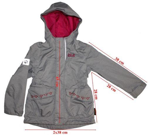 Jacheta cu polar detasabil Jack Wolfskin 3in1System Texapore copii 104