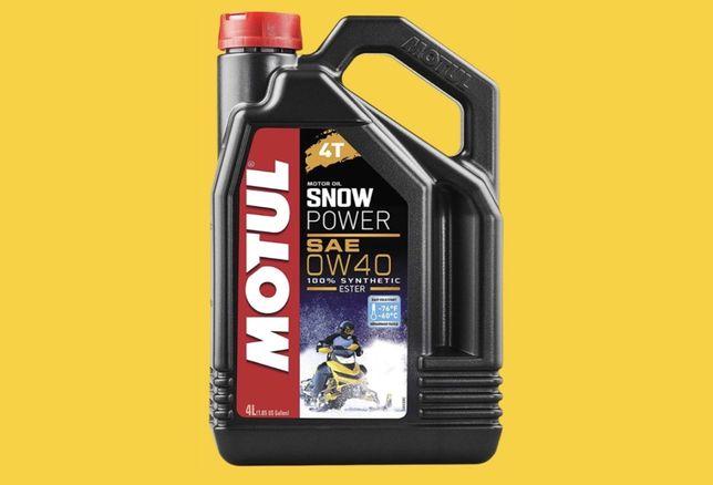 Motul Snowpower 0w40 (4T) 4 литра
