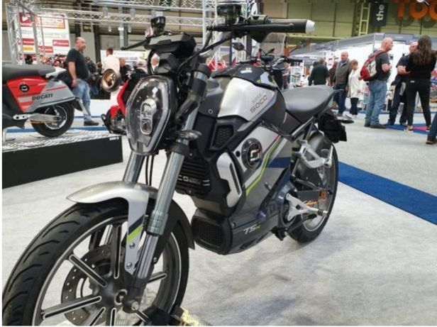 Moped electric Super Soco TSX