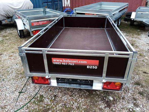 Ново ремарке с Евросертификат Lider 2D250 750kg