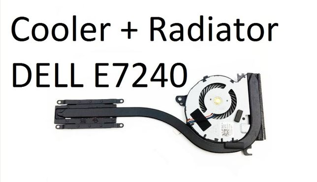 Cooler Radiator DELL E7240 Original