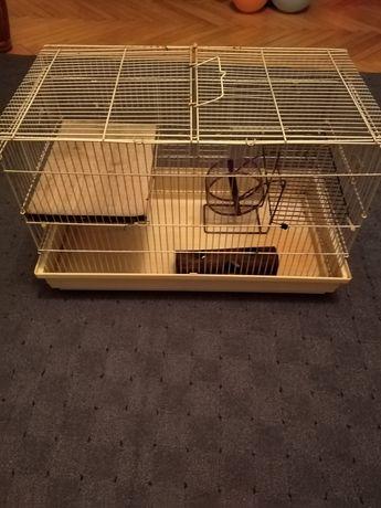 Vând cușcă pentru hamsteri, iepurași etc, l 60, lățime 35,h 35 trimit
