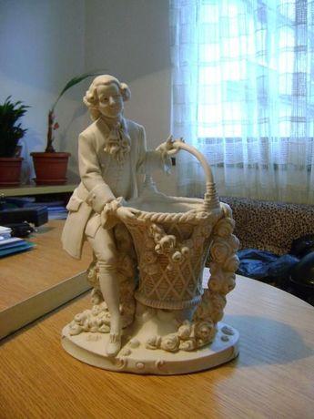 Стара порцеланова ваза 1875 г./hard paste Porcelain Porzellanfabrik He