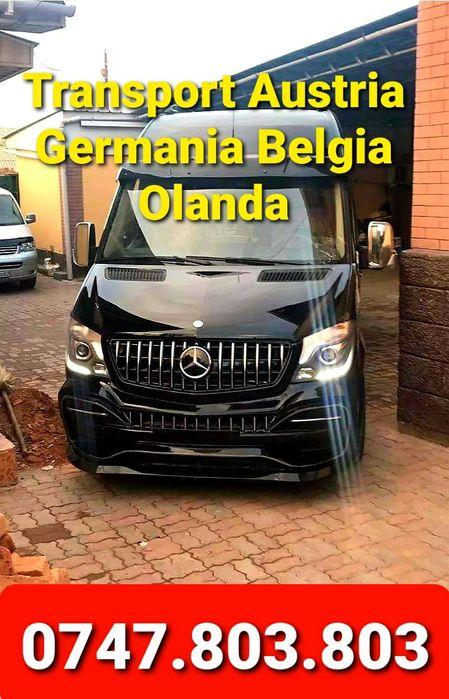 Transport Zilnic Persoane/Auto Austria Cehia Germania Belgia Olanda Satu Mare - imagine 1