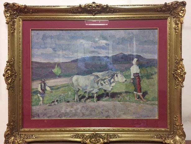 Tablou autentic,pictura in ulei,Gore Mircescu(1885-1950)!