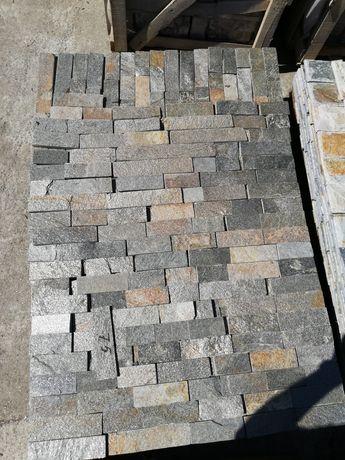 Piatră naturală gri metalic