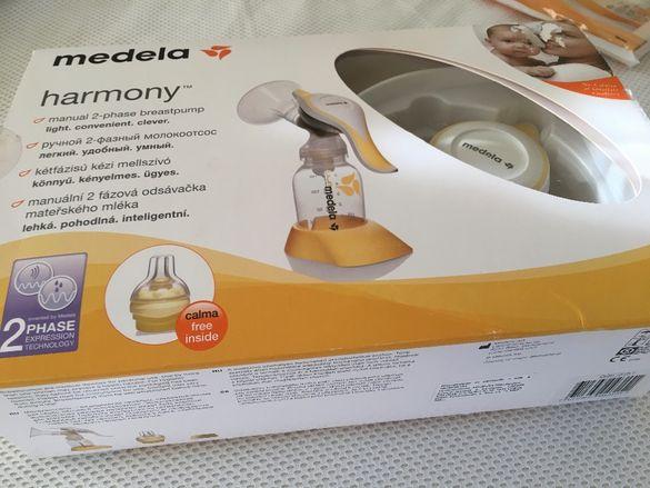 Помпа Medela и с-ма за хранене Calma + Подарък